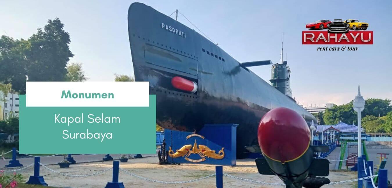 monumen kapal selam monkasel tempat wisata surabaya jawa timur indonesia