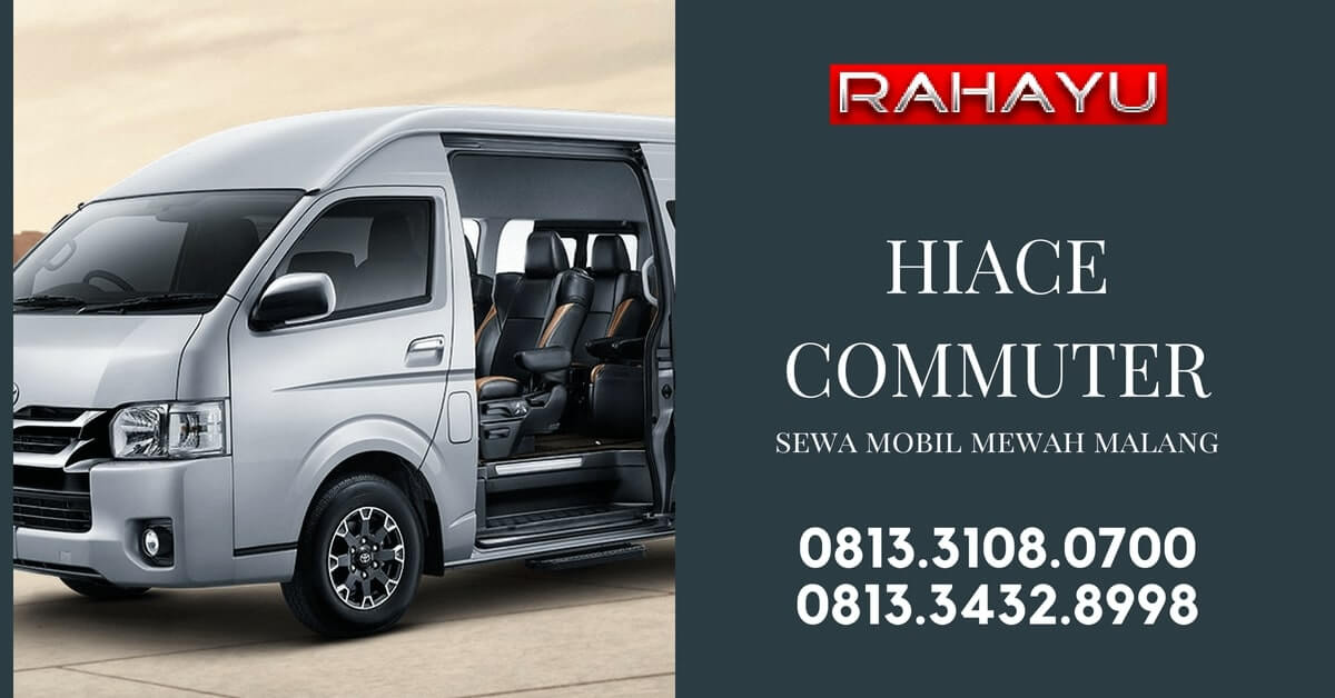 rental hiace commuter malang surabaya