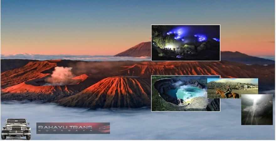 paket tur gunung bromo ijen di jawa timur indonesia