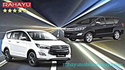 sewa rental mobil innova reborn diesel surabaya murah