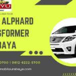 Sewa Alphard Transformer Surabaya