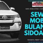 Sewa Mobil Bulanan Sidoarjo