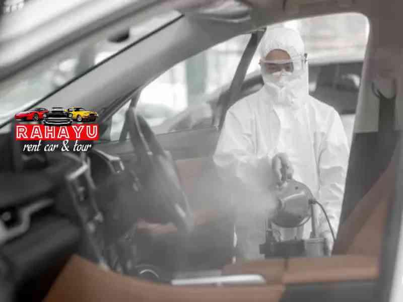 standar kesehatan dan keselamatan layanan rental mobil tour rahayu